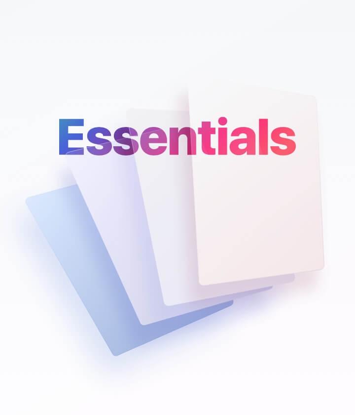 Essentials Cards
