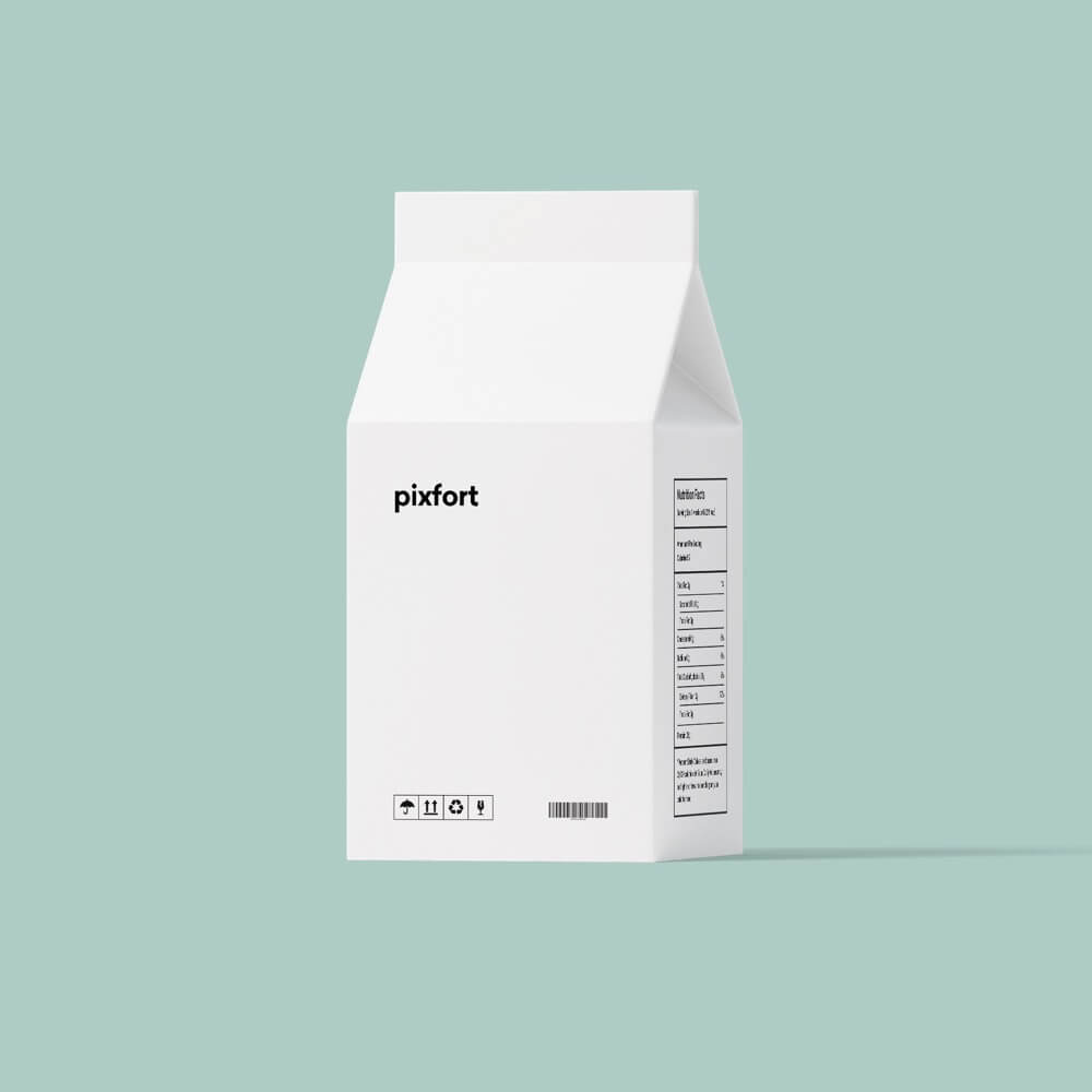 Pixfort Milk Carton
